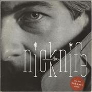 Click here for more info about 'Nick Lowe - Nick The Knife - Stickered'