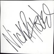 Click here for more info about 'Nick Rhodes - Autograph'