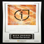 Click here for more info about 'Nick Rhodes - Interference Print - Autographed'