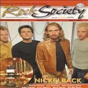 Click here for more info about 'Nickelback - Classic Rock Society Issue 123'