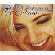 Nicki French Te Amo UK CD single