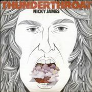 Click here for more info about 'Nicky James - Thunderthroat'