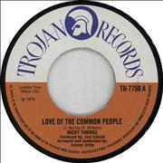 Click here for more info about 'Nicky Thomas - Love Of The Common People - Wide'
