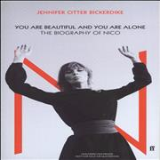 Click here for more info about 'Nico - You Are Beautiful And You Are Alone: Uncorrected Proof'