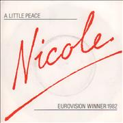 Click here for more info about 'Nicole - A Little Peace - Title Sleeve'