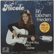 Click here for more info about 'Nicole (DE) - Ein Bißchen Frieden'