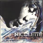 Click here for more info about 'Nicolette - Let No-One Live Rent Free In Your Head'