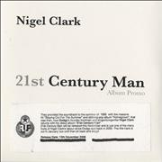 Click here for more info about 'Nigel Clark - 21st Century Man - Album Promo'