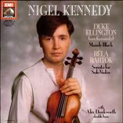 Click here for more info about 'Nigel Kennedy - Mainly Black and Sonata for Solo Violin'