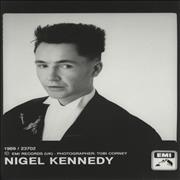Click here for more info about 'Nigel Kennedy - Publicity Photographs'