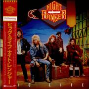 Night Ranger Big Life Japan vinyl LP Promo