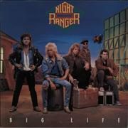 Night Ranger Big Life UK vinyl LP