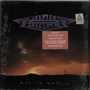 Night Ranger Man In Motion USA vinyl LP