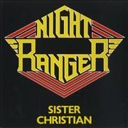 "Night Ranger Sister Christian UK 7"" vinyl"