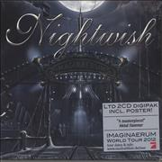 Click here for more info about 'Nightwish - Imaginaerum - Tour Edition with Poster / Sealed'