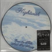 Nightwish Over The Hills And Far Away UK picture disc LP