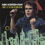 Click here for more info about 'Nik Kershaw - I Won't Let The Sun Go Down On Me - Poster sleeve'