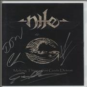 Click here for more info about 'Nile - Making Things That Gods Detest - Autographed'