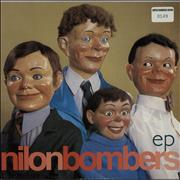 Click here for more info about 'Nilon Bombers - Nilon Bombers EP - Clear Vinyl + Numbered Sleeve'