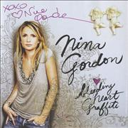 Nina Gordon Bleeding Heart Graffiti - Autographed USA CD album
