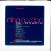 Nina Gordon Tonight & The Rest Of My Life USA CD album Promo