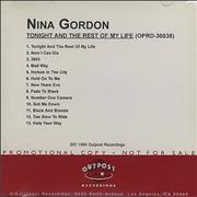 Click here for more info about 'Nina Gordon - Tonight And The Rest Of My Life'