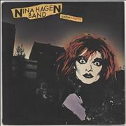 Click here for more info about 'Nina Hagen - Unbehagen - Gold promo stamped'