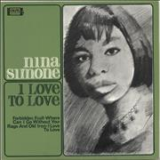 Click here for more info about 'Nina Simone - I Love To Love EP'