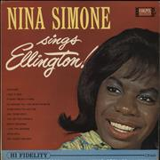 Click here for more info about 'Nina Simone - Nina Simone Sings Ellington'