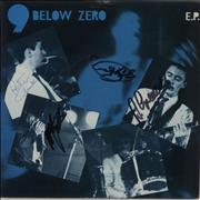 Click here for more info about 'Nine Below Zero - 9 Below Zero E.P. - Autographed'