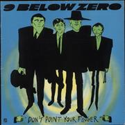 Click here for more info about 'Nine Below Zero - Don't Point Your Finger - Green vinyl'