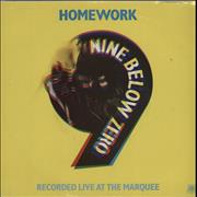 Click here for more info about 'Nine Below Zero - Homework (Live) - A-Label + P/S'