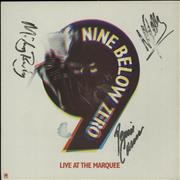 Click here for more info about 'Nine Below Zero - Quantity of Four Autographed LPs'