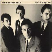 Click here for more info about 'Nine Below Zero - Third Degree - Gold Promo Stamped LP + Press Release'