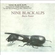 Click here for more info about 'Nine Black Alps - Burn Faster'