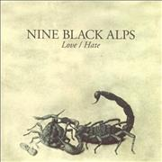 Click here for more info about 'Nine Black Alps - Love/Hate'