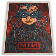 Click here for more info about 'Nine Inch Nails - Australian Tour Poster'