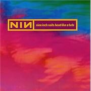 """Nine Inch Nails Head Like A Hole UK 7"""" vinyl"""
