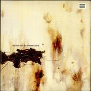 Nine Inch Nails The Downward Spiral USA 2-LP vinyl set Promo