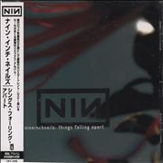 Nine Inch Nails Things Falling Apart Remix Japan CD album