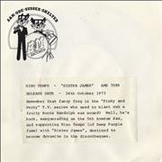 Click here for more info about 'Nino Tempo - Sister James - P/S'