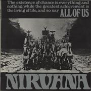 Click here for more info about 'Nirvana (UK) - All Of Us - 1st - EX'
