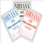 Click here for more info about 'Nirvana (US) - 1991 Nevermind Tour Passes'