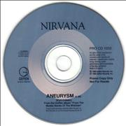 Click here for more info about 'Nirvana (US) - Aneurysm'