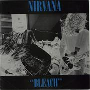 Click here for more info about 'Bleach - Blue Vinyl - Blue Sleeve Titles - EX'