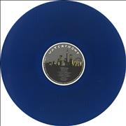 Click here for more info about 'Nirvana (US) - Bleach - Blue Vinyl - Blue Sleeve Titles'