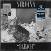 Click here for more info about 'Nirvana (US) - Bleach - Blue/Black Swirl - Deluxe - Sealed'