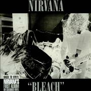 Click here for more info about 'Nirvana (US) - Bleach - Clear vinyl'