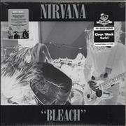 Click here for more info about 'Nirvana (US) - Bleach - Clear/Black Swirl - Deluxe - Sealed'