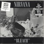 Click here for more info about 'Nirvana (US) - Bleach - Clear/White Vinyl - Sealed'